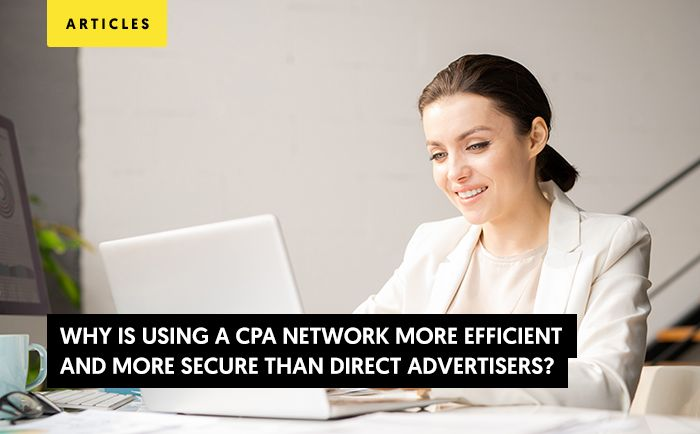 Affiliate network: More efficient than direct advertisers?